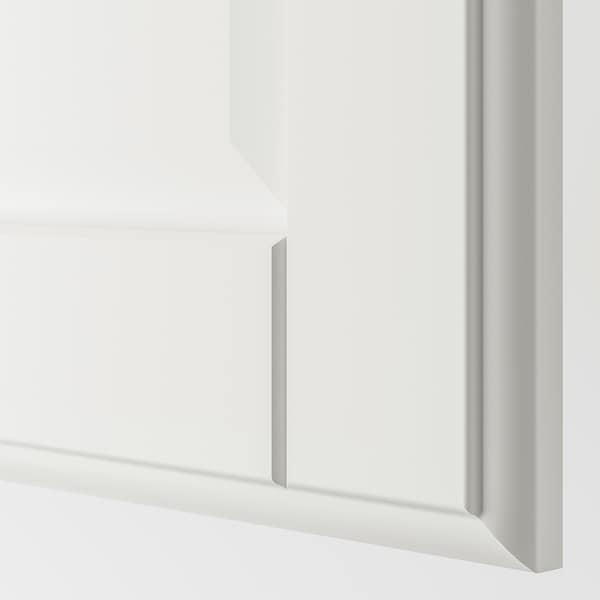 """TYSSEDAL Door with hinges, white, 19 1/2x76 5/8 """""""
