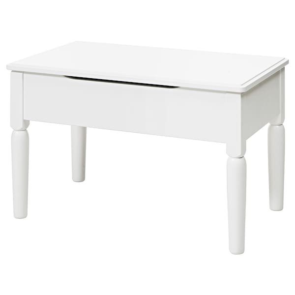 Storage Stool Tyssedal White
