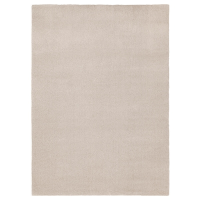 "TYVELSE Rug, low pile, off-white, 5 ' 7 ""x7 ' 10 """