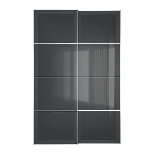 Uggdal Pair Of Sliding Doors 59x92 7 8 Quot Ikea