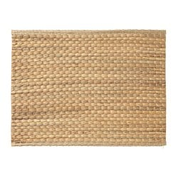 UNDERLAG place mat, water hyacinth, natural