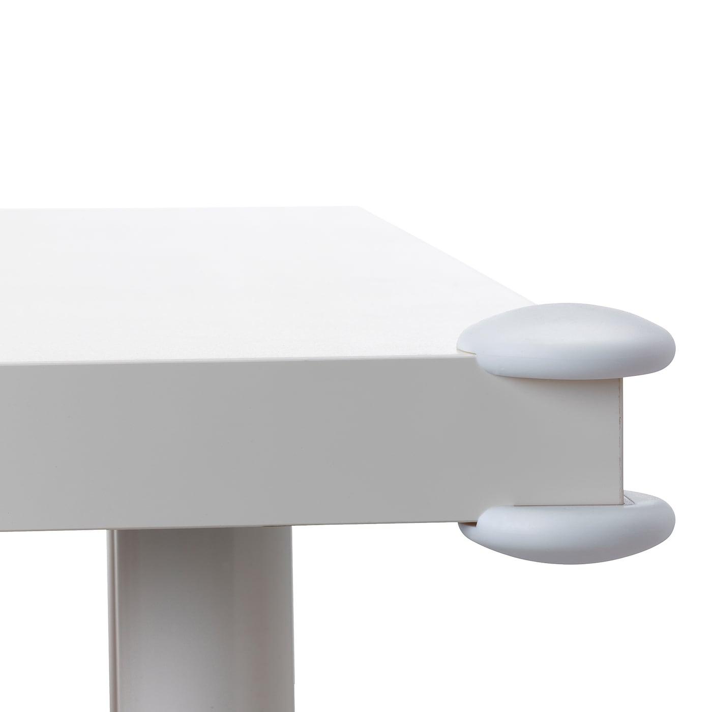 NEW IKEA 8 PACK PATRULL WHITE CHILD-SAFE TABLE CORNER BUMPER