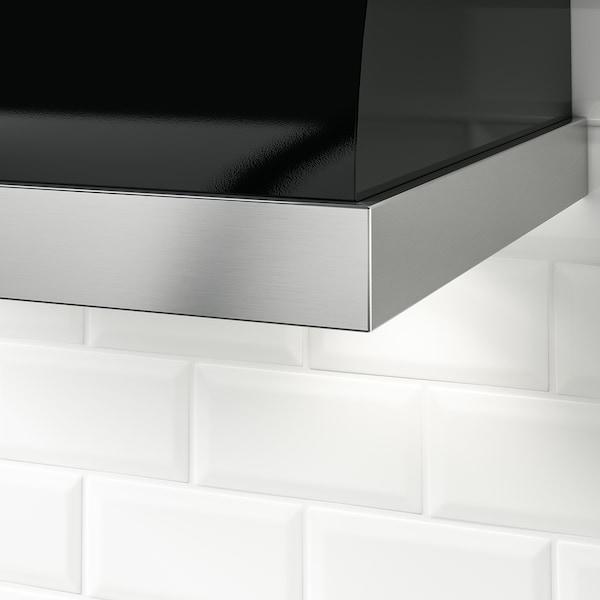 UNGDOMLIG Wall mounted range hood, black
