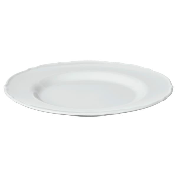 """UPPLAGA Side plate, white, 9 """""""