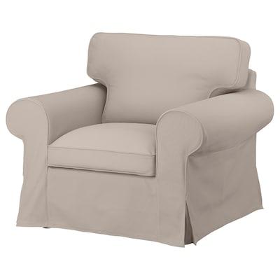 UPPLAND Cover for armchair, Totebo light beige