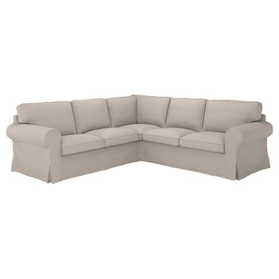 UPPLAND Cover for sectional, 4-seat, Totebo light beige