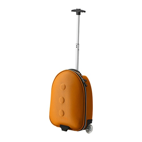 Uppt cka children 39 s carry on bag ikea for Ikea luggage cart