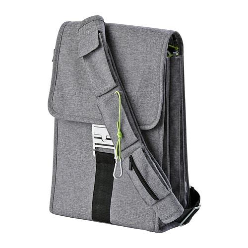 UPPTÄCKA Laptop backpack , gray