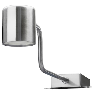 URSHULT LED cabinet light, nickel plated