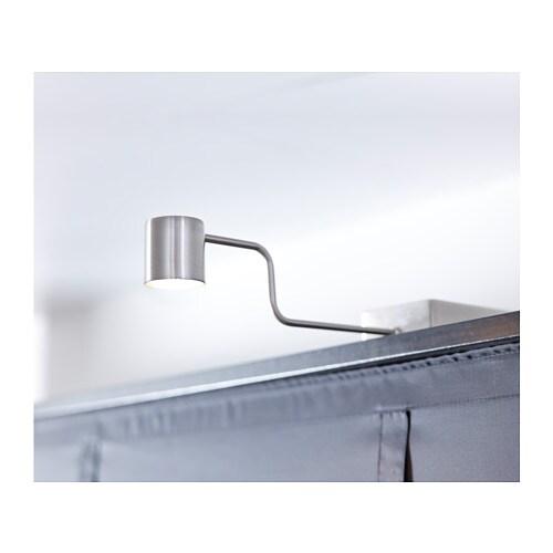 URSHULT LED cabinet light  nickel plated  IKEA
