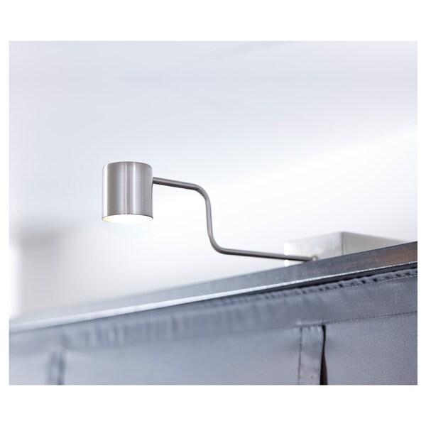 """URSHULT LED cabinet light nickel plated 100 Lumen 11 """" 3 """" 4 """" 7 ' 3 """" 2 W"""