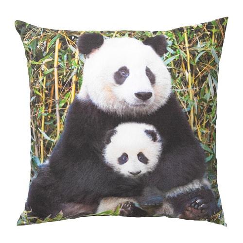 Prime Urskog Cushion Panda Multicolor Download Free Architecture Designs Scobabritishbridgeorg