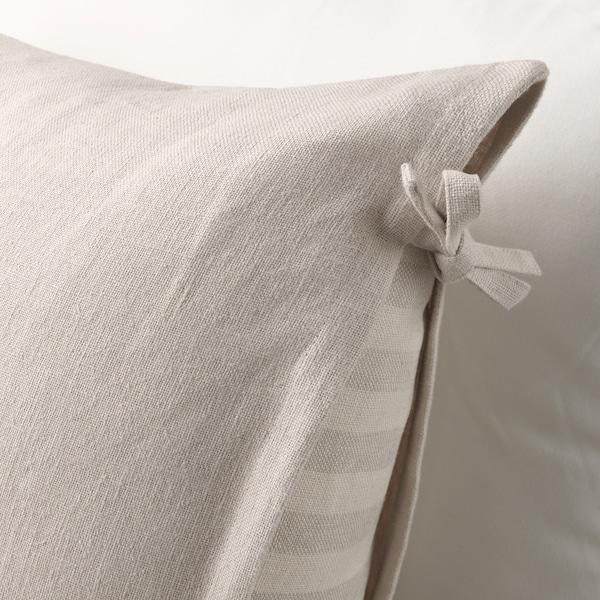"URSULA cushion cover light beige 26 "" 26 """