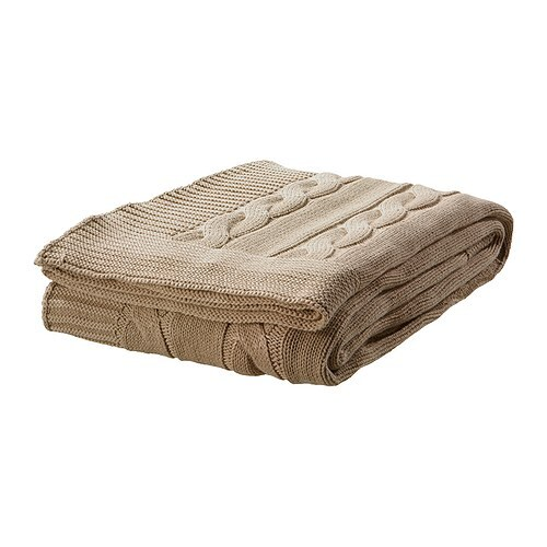 ursula throw beige ikea