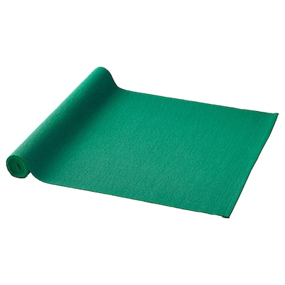 UTBYTT Table runner, dark green, 14x51 ""