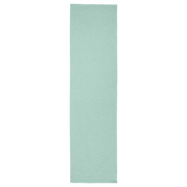 """UTBYTT Table runner, light turquoise, 14x51 """""""