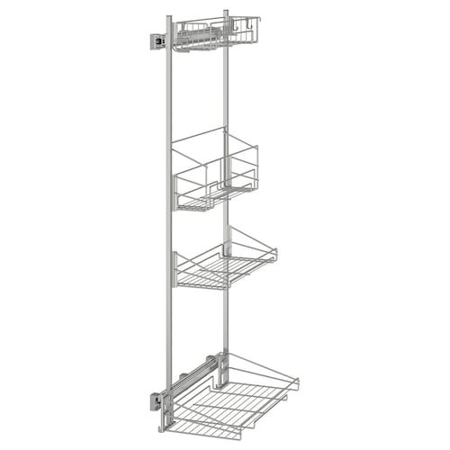 IKEA UTRUSTA Pull-out rack for cleaning supplies