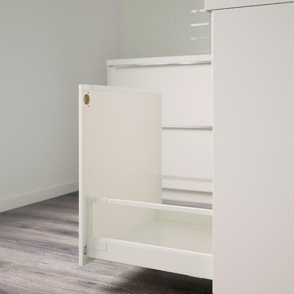 UTRUSTA fixture for mounting door on drawer