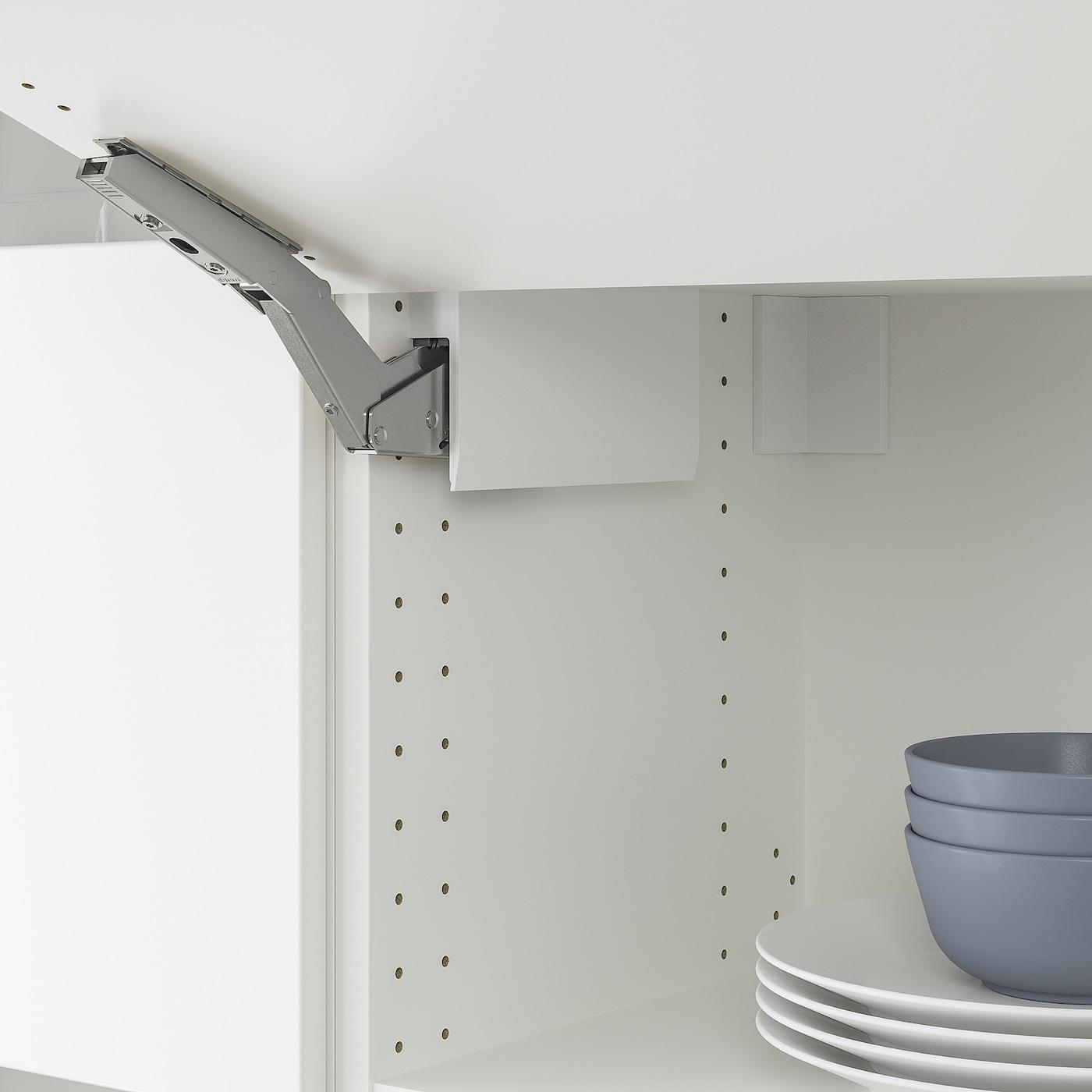 3 PAIR Modern IKEA UTRUSTA Horizontal Cabinet  Door Hinge Soft Close 402.794.77