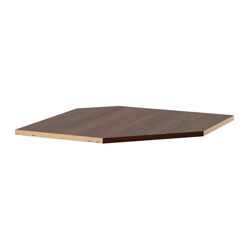 Utrusta Shelf For Corner Wall Cabinet Wood Effect Brown