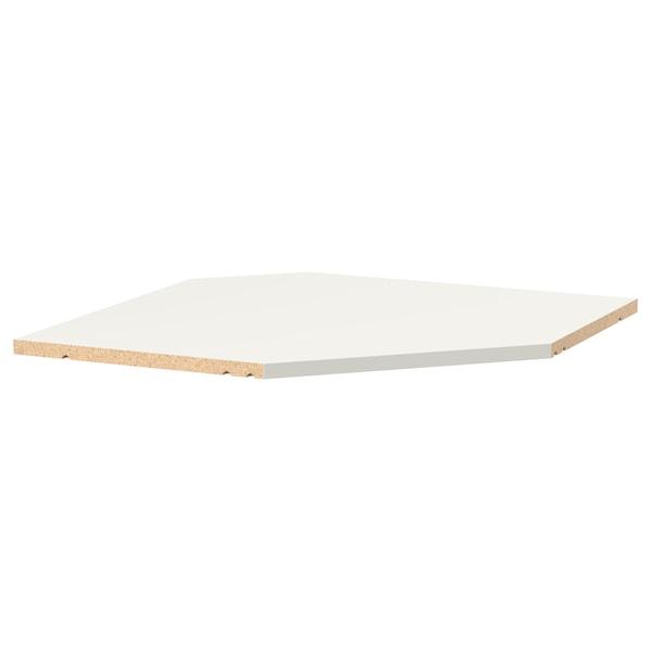 """UTRUSTA Shelf for corner wall cabinet, white, 26 """""""