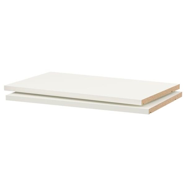 "UTRUSTA Shelf, white, 24x14 3/4 """