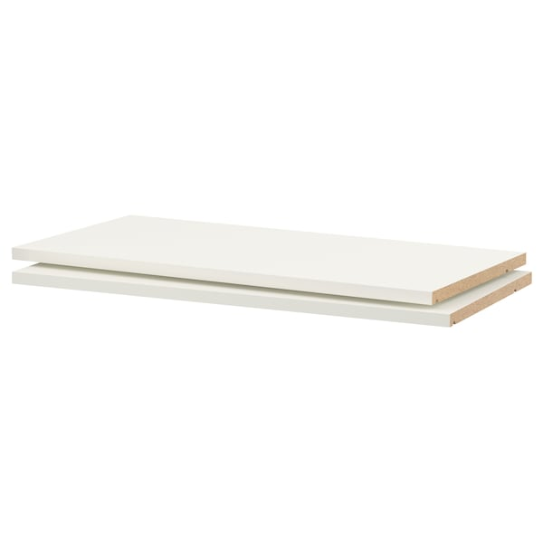 "UTRUSTA Shelf, white, 30x14 3/4 """