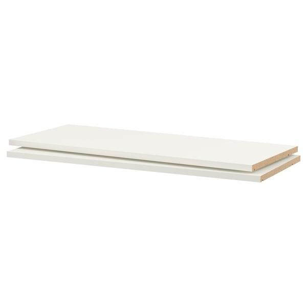 "UTRUSTA Shelf, white, 36x14 3/4 """