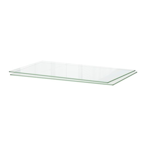 Folding Tv Dinner Table Ikea ~ UTRUSTA Shelf IKEA The tempered glass surface is easy to clean