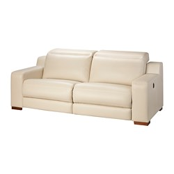 UTTRAN sofa with adjustable seat/back, Kimstad off-white