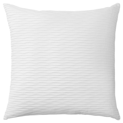 "VÄNDEROT Cushion, white, 20x20 """