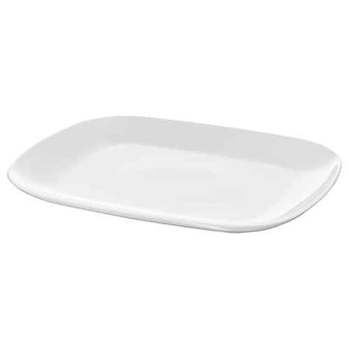 """VÄRDERA plate white 12 ¼ """" 10 ¼ """""""