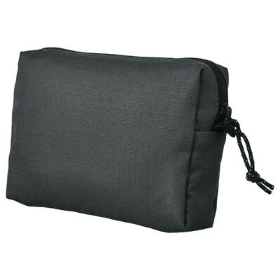 """VÄRLDENS accessory bag dark gray/medium 6 ¼ """" 1 ½ """" 4 ¼ """""""