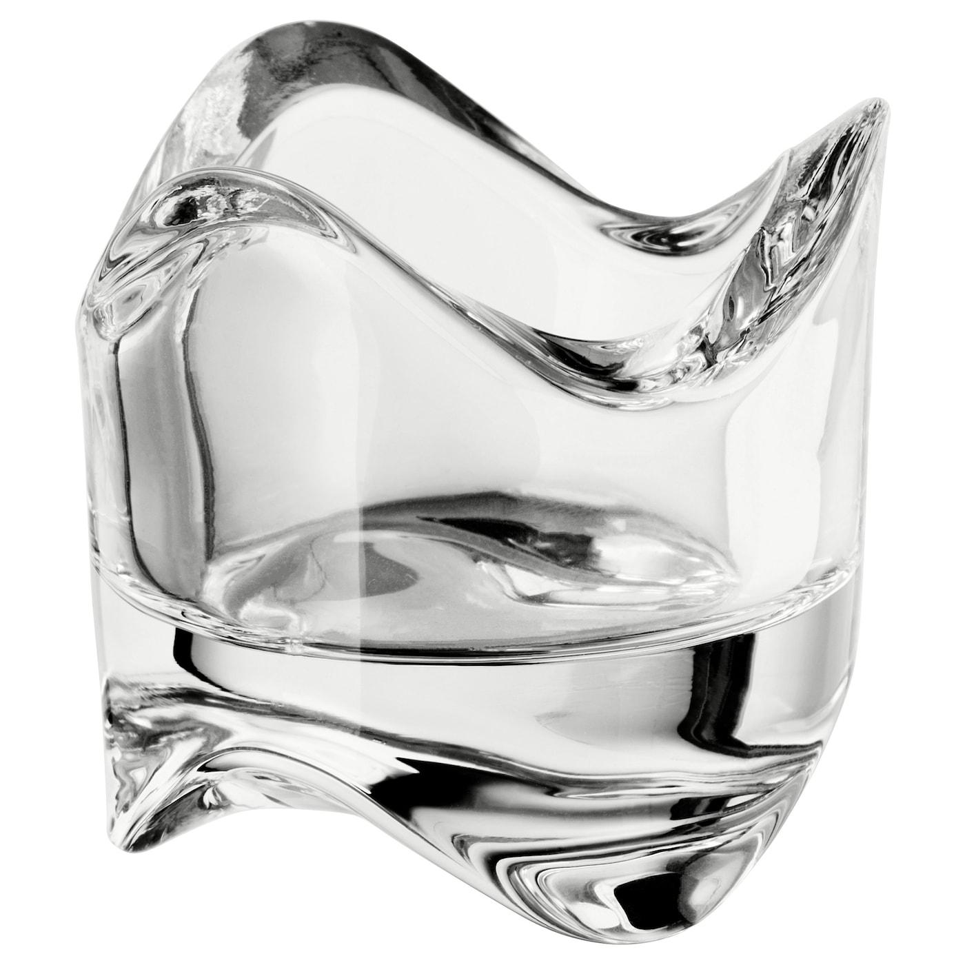 Clear 6x6x6cm-Candle Glass//Tea Light Glass Inna Glass Tealight Holder Levi