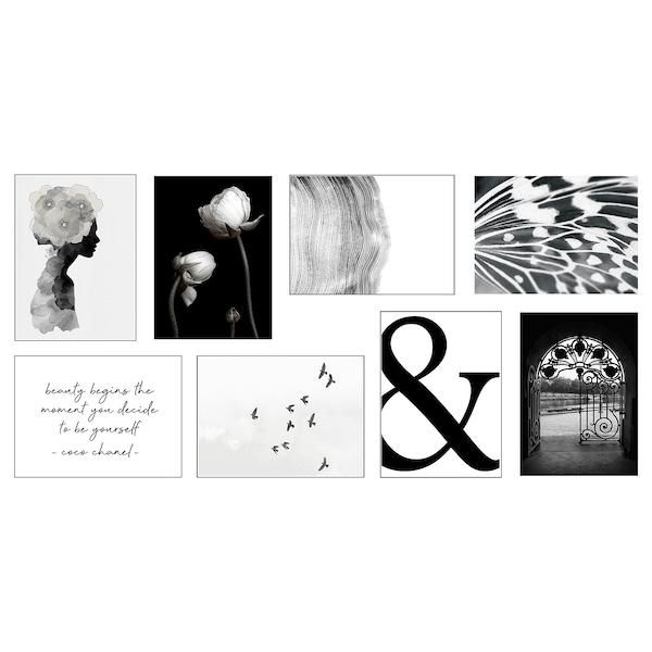 "VÄXBO Art card, Flowers on my mind, 5x7 """