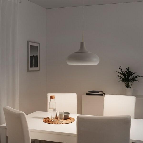 """VÄXJÖ Pendant lamp, beige, 15 """""""