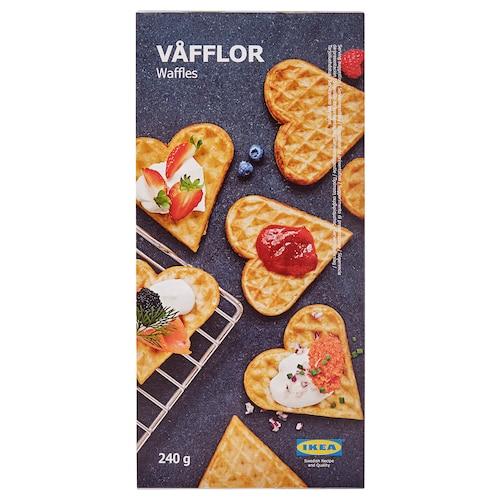 VÅFFLOR waffles, frozen 8 oz