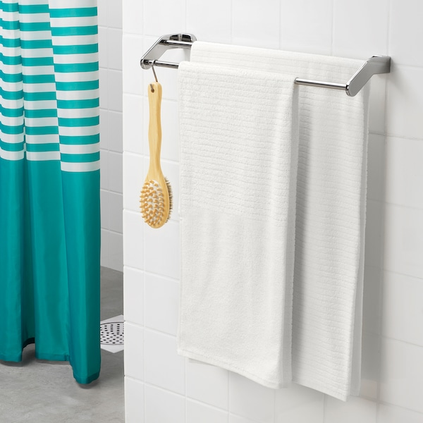 "VÅGSJÖN bath towel white 55 "" 28 "" 10.55 sq feet 1.31 oz/sq ft"