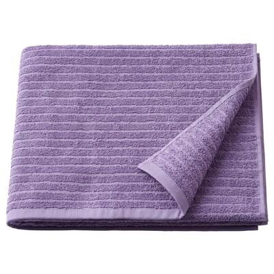 """VÅGSJÖN bath towel purple 55 """" 28 """" 10.55 sq feet 1.31 oz/sq ft"""