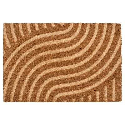 "VALLENSVED Door mat, indoor, natural, 1 ' 4 ""x2 ' 0 """