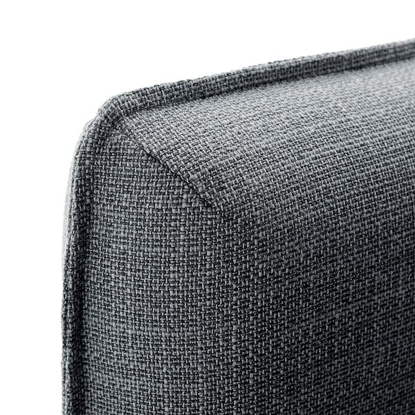 """VALLENTUNA Backrest, Hillared dark gray, 31 1/2x31 1/2 """""""