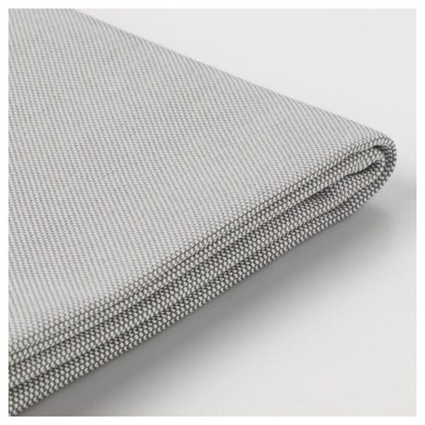 VALLENTUNA cover for back cushion Orrsta light gray