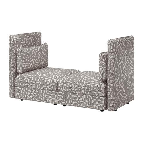 vallentuna loveseat ikea. Black Bedroom Furniture Sets. Home Design Ideas