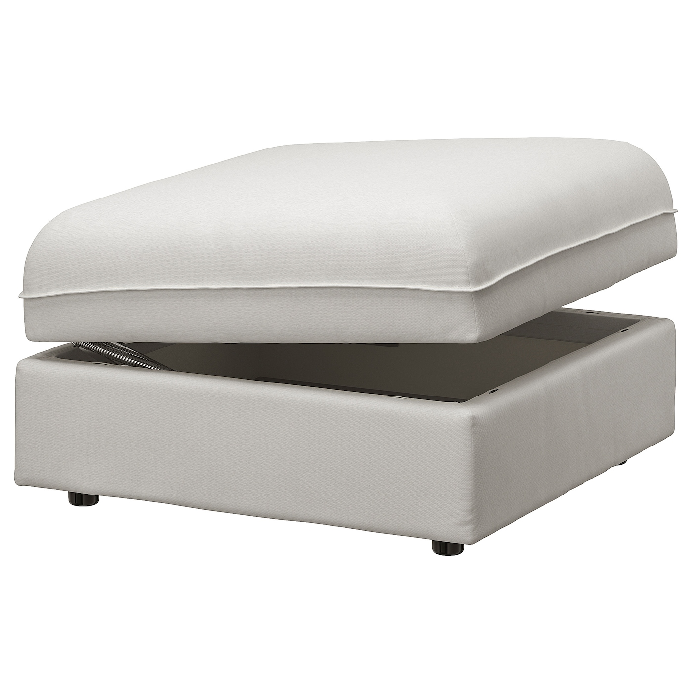 VALLENTUNA Storage seat section - Orrsta light gray - IKEA