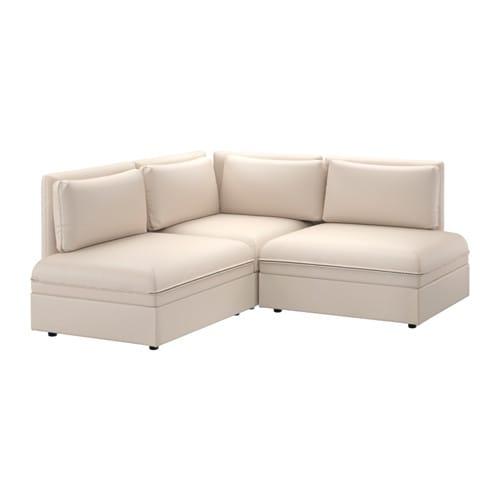 Vallentuna sectional 2 seat murum beige ikea - Ikea divano vallentuna ...