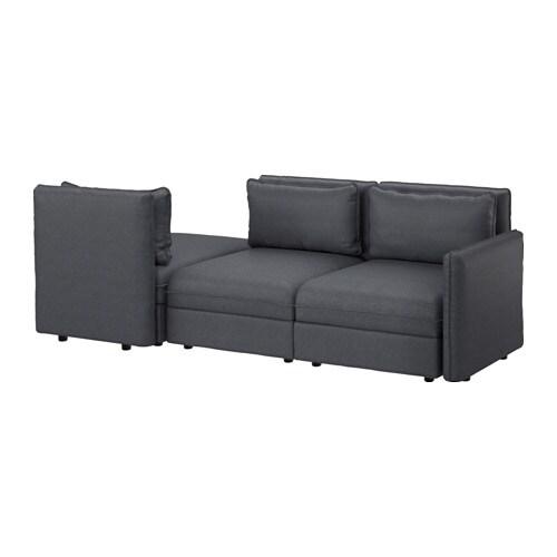 Vallentuna Sleeper Sectional 3 Seat