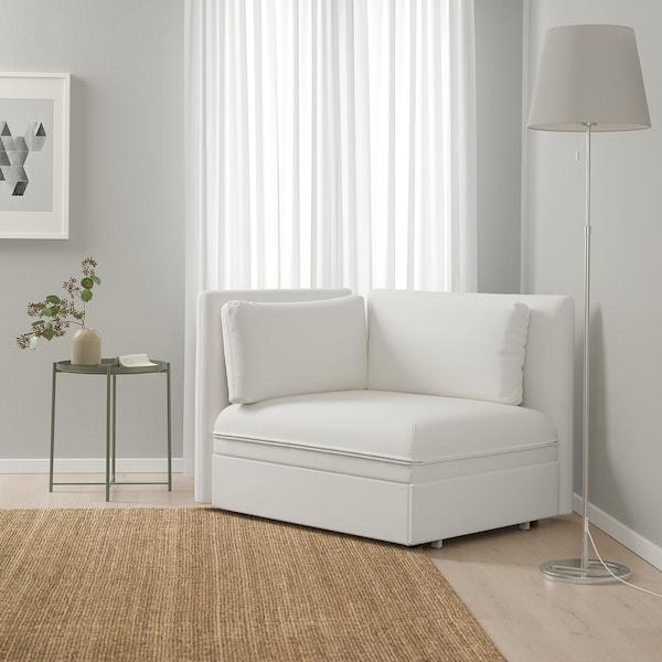 """VALLENTUNA sleeper module with backrests Murum white 44 1/2 """" 36 5/8 """" 33 1/8 """" 17 3/4 """" 31 1/2 """" 78 3/4 """""""