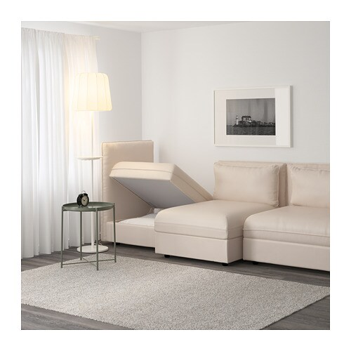 VALLENTUNA Sofa IKEA Add, remove or change functions to suit your needs, and choose covers to fit your style.  This sofa combination includes storage.