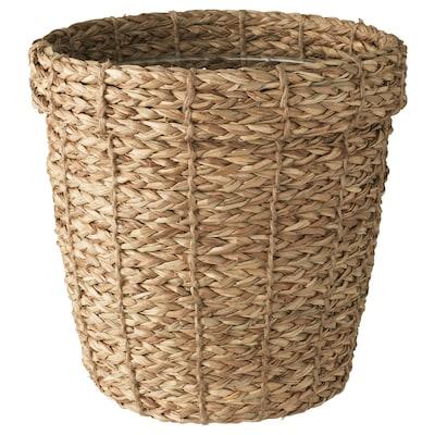 """VALLMOFRÖN plant pot seagrass 9 ½ """" 10 ¼ """" 7 ½ """" 8 ¾ """""""