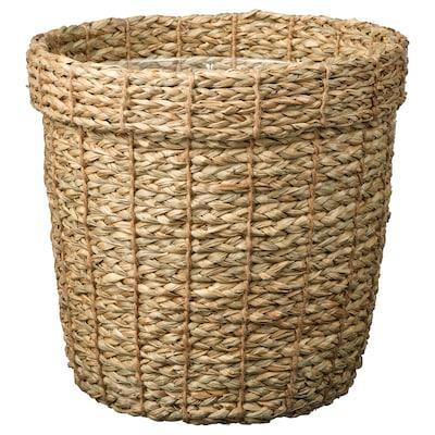 """VALLMOFRÖN Plant pot, seagrass, 9 ½ """""""